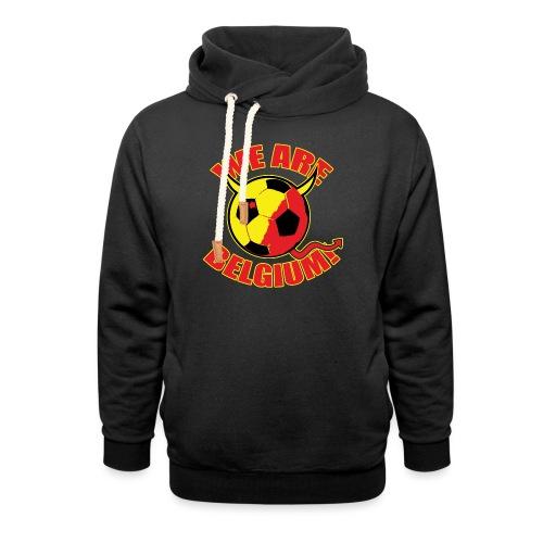 We Are Belgium - Sjaalkraag hoodie