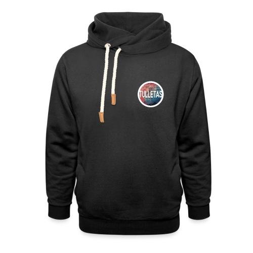Tulletas - Unisex hoodie med sjalskrave