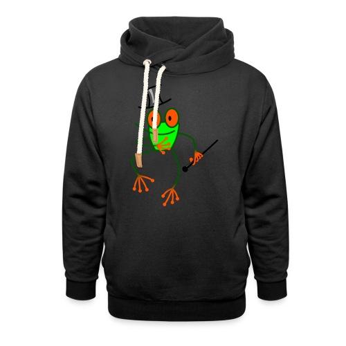 Dancing Frog - Shawl Collar Hoodie