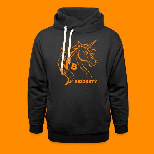 BIODUSTY UNICORN VROUWENSHIRT - Unisex sjaalkraag hoodie