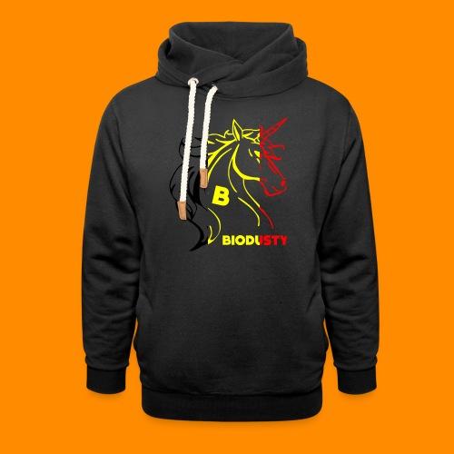 belgian biodusty unicorn hoodie unisex - Unisex sjaalkraag hoodie