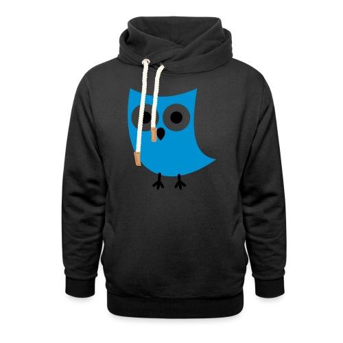 Uiltje - Unisex sjaalkraag hoodie