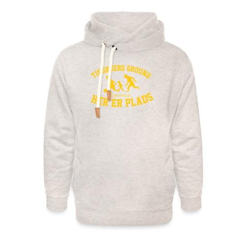 Tingbjerg Ground - her er plads - Unisex hoodie med sjalskrave