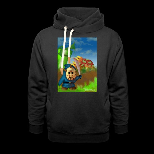 SuperMario: Not so shy guy - Unisex sjaalkraag hoodie