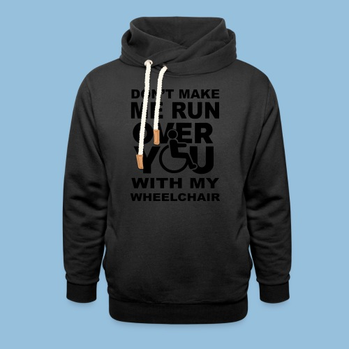 Runover1 - Sjaalkraag hoodie
