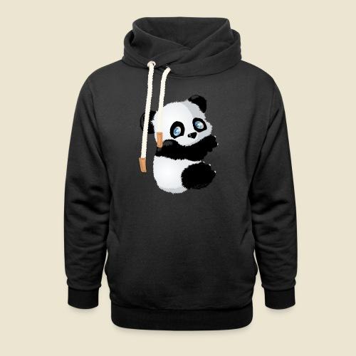 Bébé Panda - Sweat à capuche cache-cou
