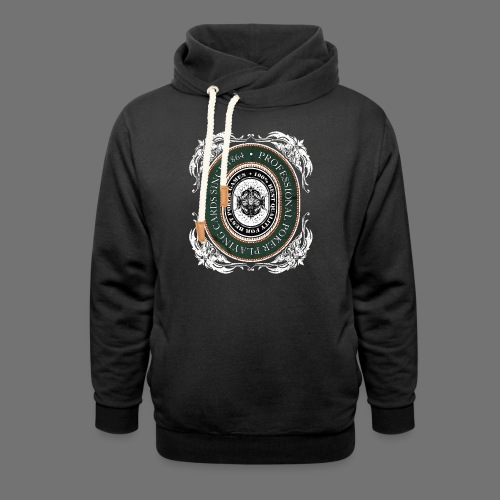 Poker Cards 1864 (oldstyle) - Shawl Collar Hoodie