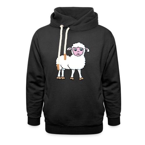 Minos le petit agneau - Sweat à capuche cache-cou