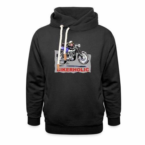 bikerholic - Unisex Shawl Collar Hoodie
