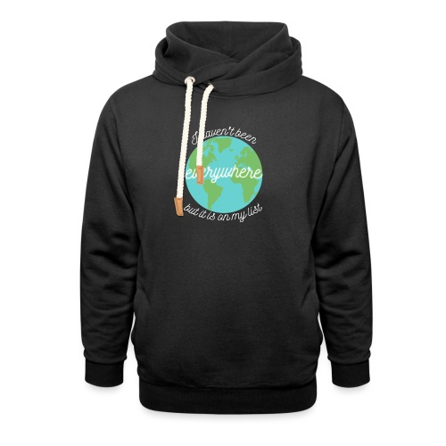 Travel the World - Luvtröja med sjalkrage unisex