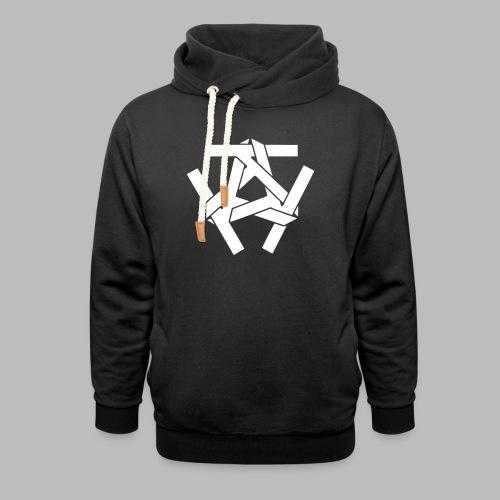 KKK-Logo-vektor - Schalkragen Hoodie