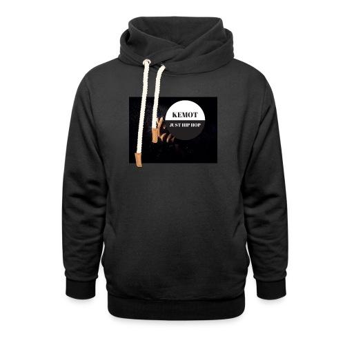 KeMoT odzież limitowana edycja - Bluza z szalowym kołnierzem