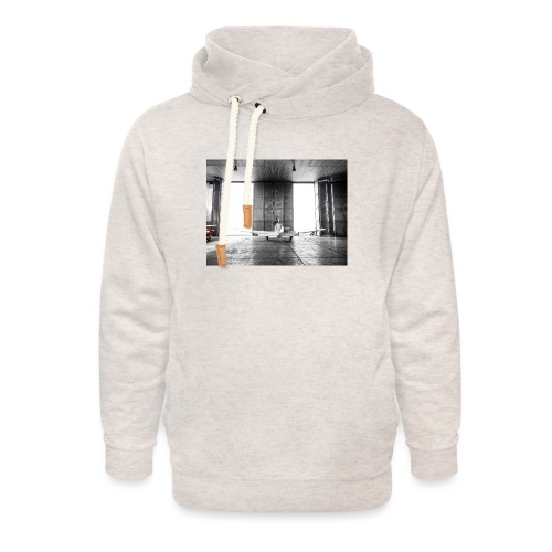 Beech in the hangar - Unisex Shawl Collar Hoodie