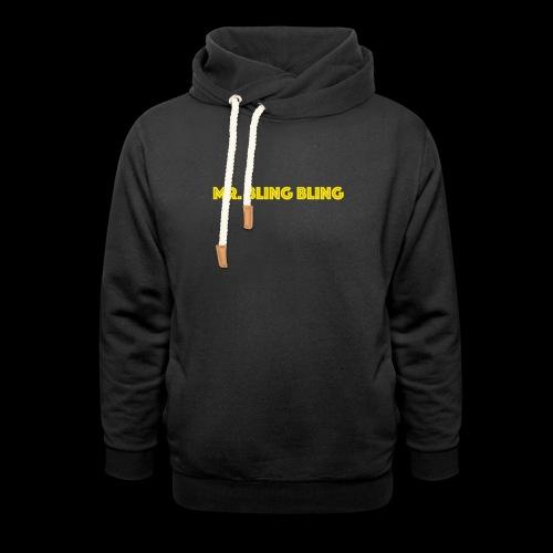 bling bling - Unisex Schalkragen Hoodie