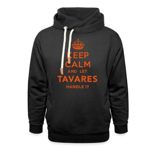 Keep Calm Tavares - Luvtröja med sjalkrage