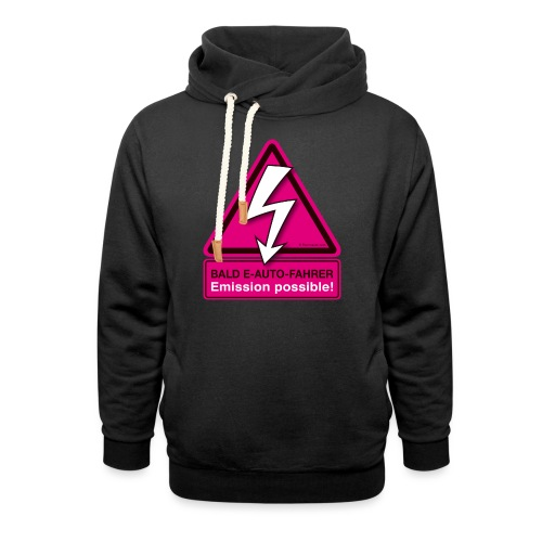 Bald E-AUTO-Fahrer - Emission possible - Schalkragen Hoodie