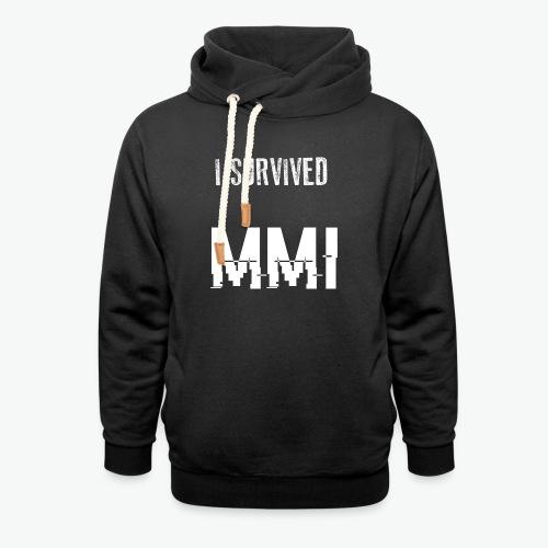 MMI survivor alternative - Sweat à capuche cache-cou