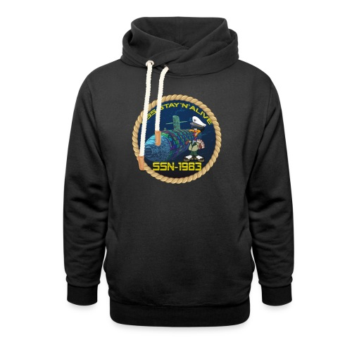 Command Badge SSN-1983 - Shawl Collar Hoodie