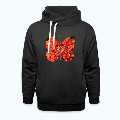 Naturwesen - Schmetterling - Shawl Collar Hoodie
