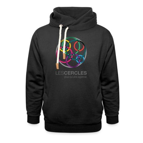 LESCERCLES Logo Colour - Shawl Collar Hoodie