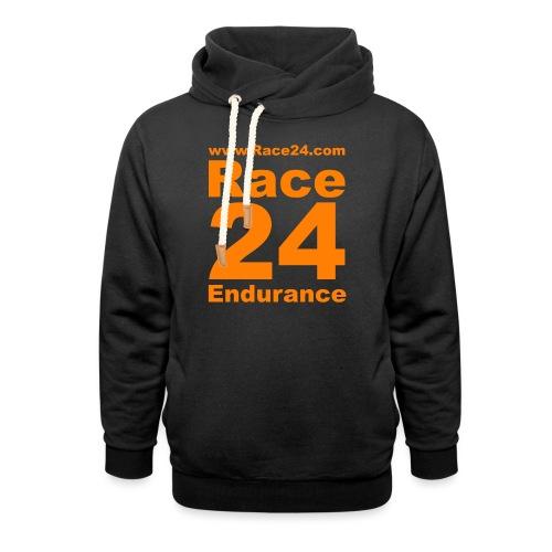 Race24 Logo in Orange - Unisex Shawl Collar Hoodie
