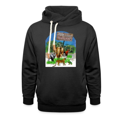 STOP - Jungle Destruction - Schalkragen Hoodie
