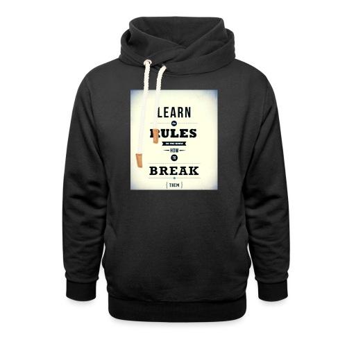 RULES - Sjaalkraag hoodie