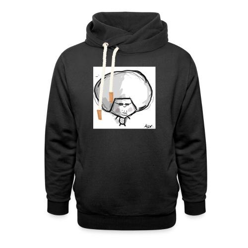 Harry - Unisex sjaalkraag hoodie