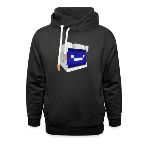 Rqb hoofd - Unisex sjaalkraag hoodie