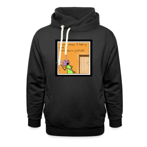 Snack Attack - Shawl Collar Hoodie
