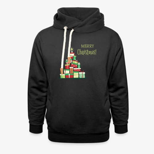 Gifts - Merry Christmas - Unisex Shawl Collar Hoodie