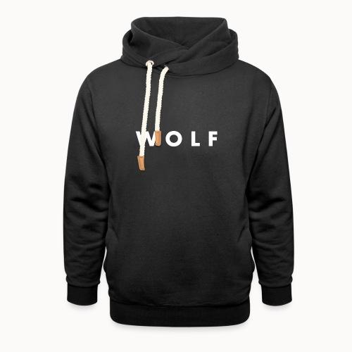wolf - Sweat à capuche cache-cou