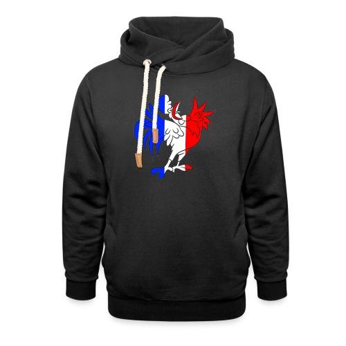 Coq France - Sweat à capuche cache-cou