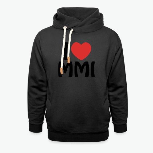I love MMI - Sweat à capuche cache-cou