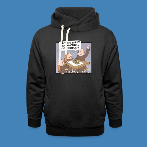 Pubquiz in de Abdij - Unisex sjaalkraag hoodie