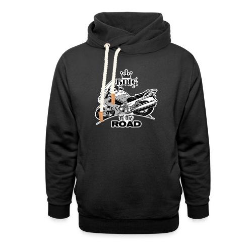 0884 FJR KING of the ROAD - Unisex sjaalkraag hoodie