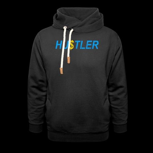 Hustler Used Look - Unisex Schalkragen Hoodie
