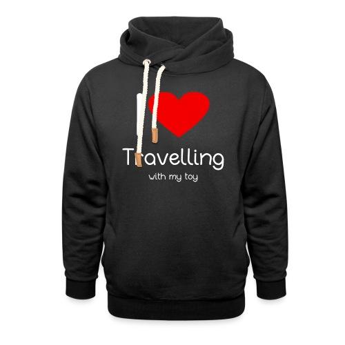 Spielzeug Reisen ToyVoyaging Shirt Geschenk - Schalkragen Hoodie