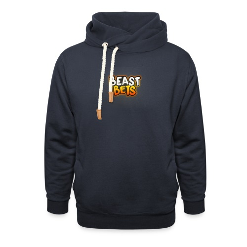 BeastBets - Hoodie med sjalskrave