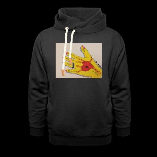 9D8D600F D04D 4BA7 B0EE 60442C72919B - Unisex hoodie med sjalskrave