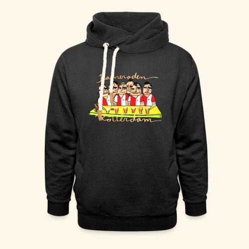 Kameraden Feyenoord - Unisex sjaalkraag hoodie