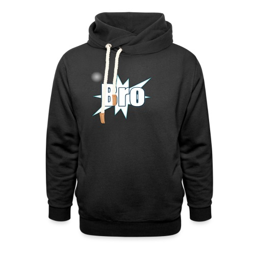Bro hats and shirts - Hoodie med sjalskrave