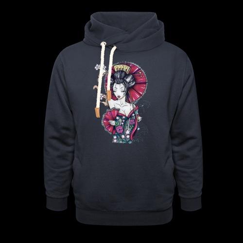 Geisha2 - Felpa con colletto alto unisex