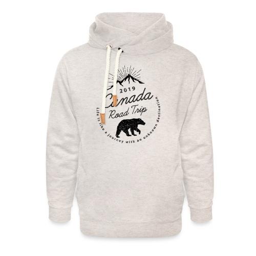 canada - Sweat à capuche cache-cou unisexe