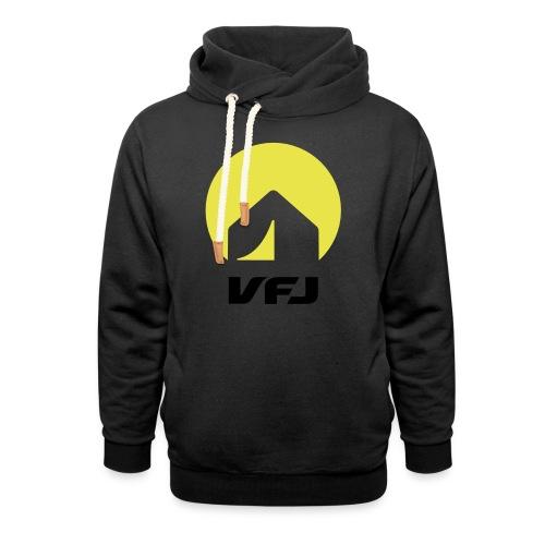 VfJ Logo 2013 shriftschwa - Schalkragen Hoodie