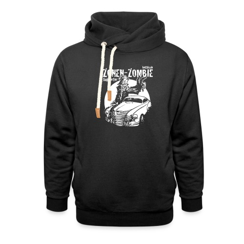 Zonen Zombie Supporter Shirt - Unisex Schalkragen Hoodie