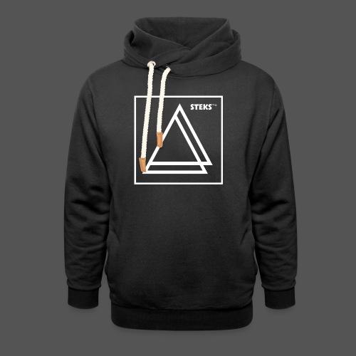 STEKS™ - Unisex sjaalkraag hoodie