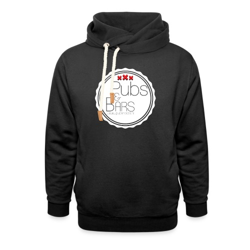 PubsnBars - Unisex sjaalkraag hoodie