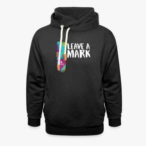 Leave a mark - Shawl Collar Hoodie