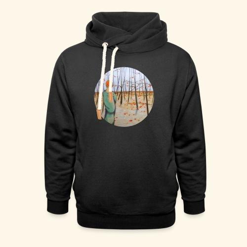 Winter wood - Felpa con colletto alto